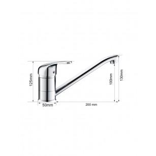 Acquista Canna alta, universale con attacco 3/4, altezza 16 cm al miglior prezzo