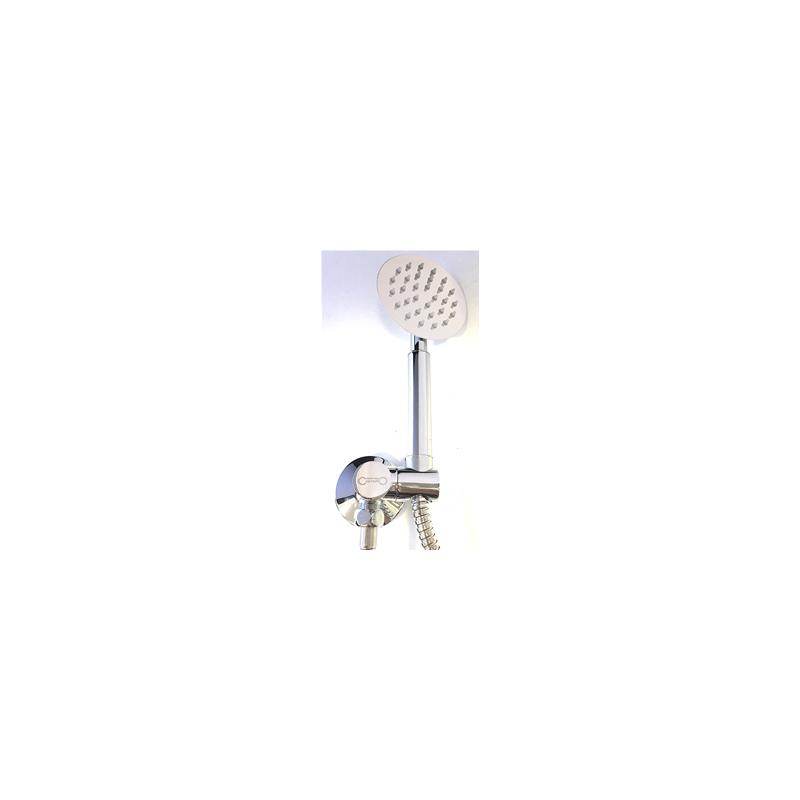 Achetez Support de douche en laiton chromé, vintage complet avec fixations au meilleur prix