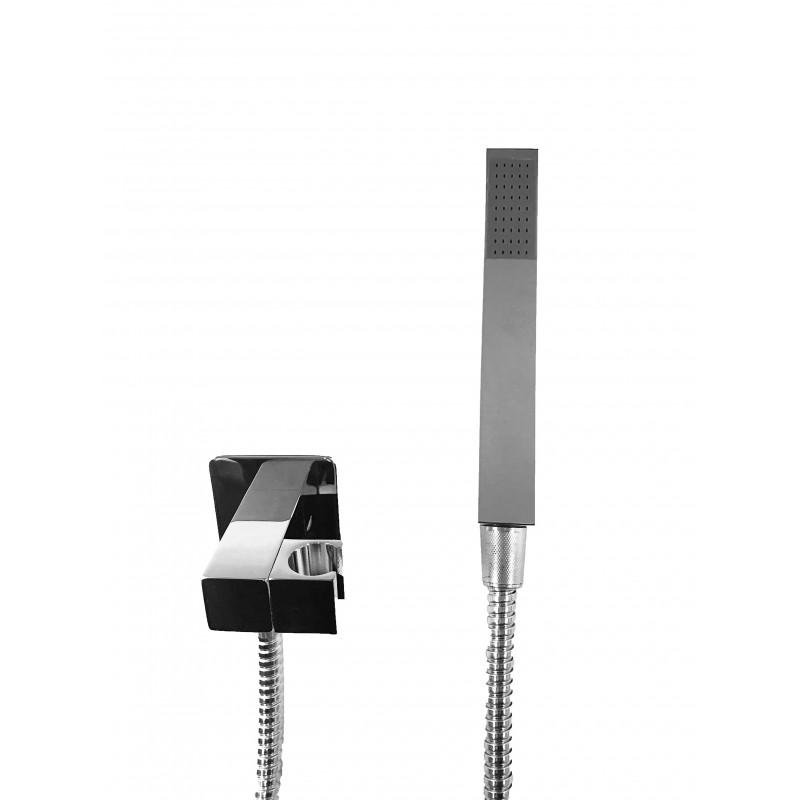 Achetez Bras de douche, carré rectangulaire de 40 cm en laiton chromé au meilleur prix