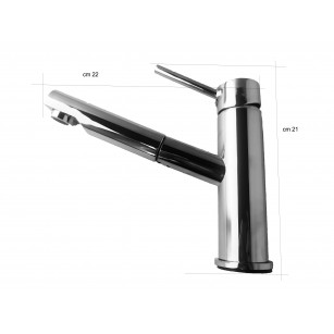 Tap retro vintage bronze epoch for kitchens, with swivel spout