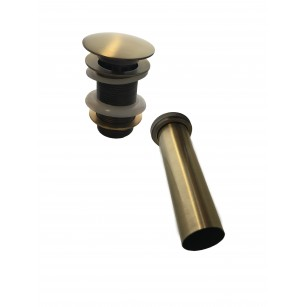 BRASS SHOWER SET TIME WITH WATER INTAKE AND SUPPORT