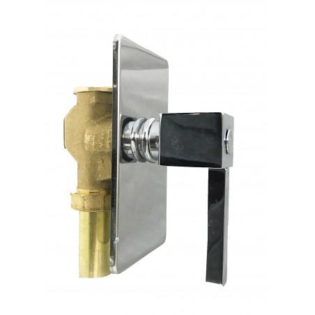 Achetez Support de douche avec prise d'eau et tuyau flexible 150 cm au meilleur prix
