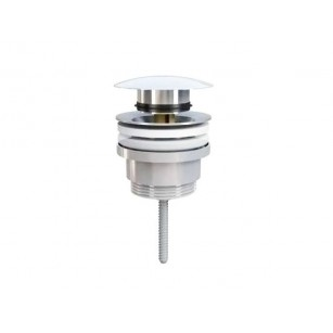 """Siphon Brass Chromed Exhaust from 1.1 / 4 """"AS To Basin Bidet Basin"""